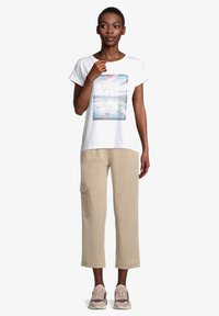 Cartoon - Print T-shirt - weiß/blau - 1
