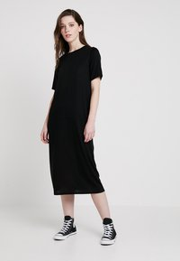 Weekday - BEYOND DRESS - Jersey dress - black - 0