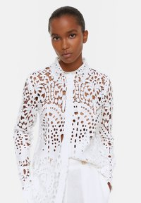 Uterqüe - Button-down blouse - white - 0