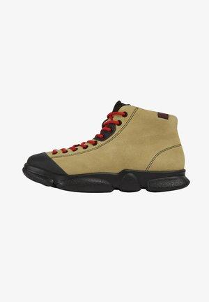 KARST - Platform ankle boots - mittelbeige