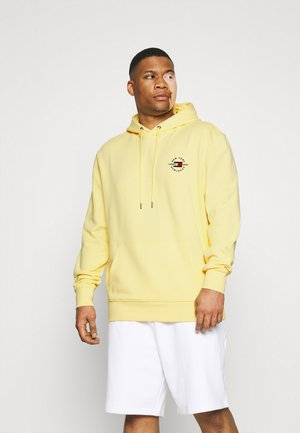CIRCLE CHEST CORP HOODY - Hoodie - delicate yellow