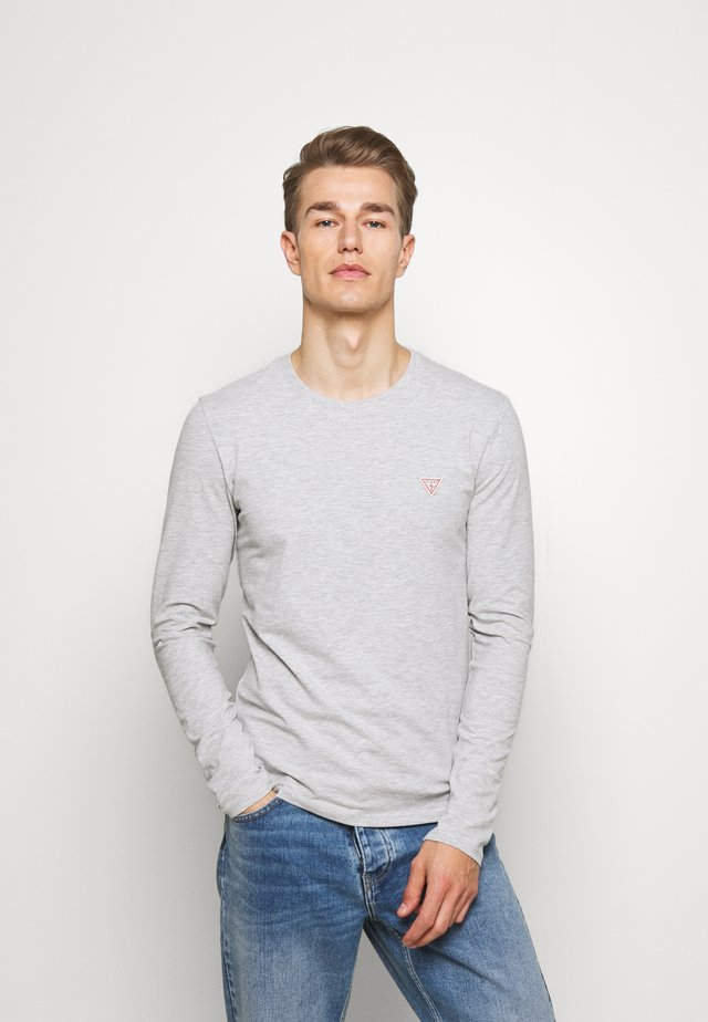 CORE TEE - Bluzka z długim rękawem - light heather grey