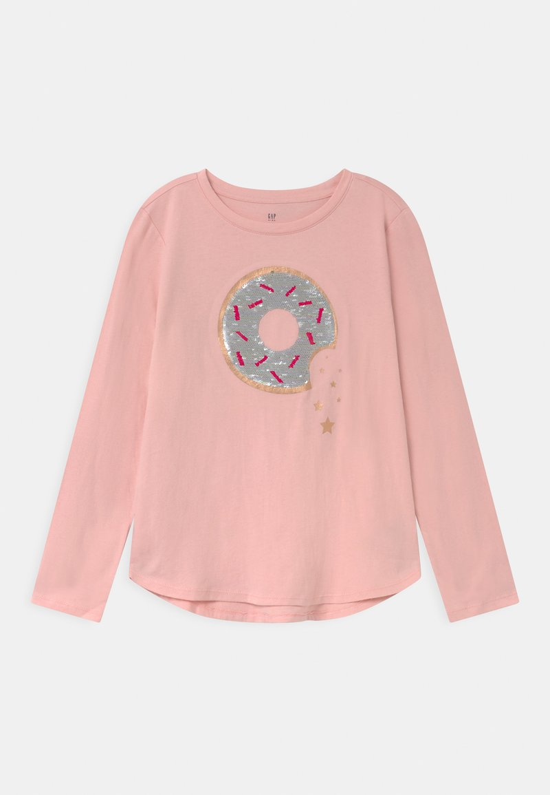 GAP - GIRL  - Top sdlouhým rukávem - minimal pink