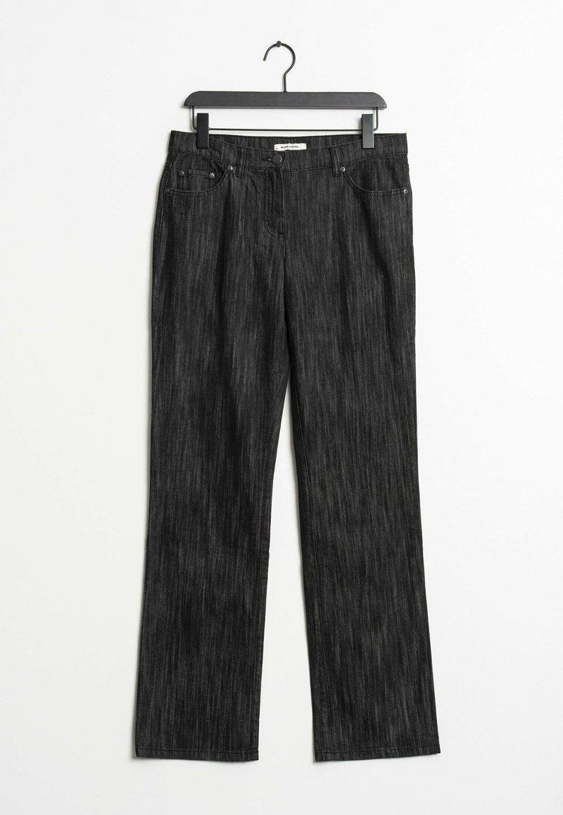 More & More - Straight leg jeans - black