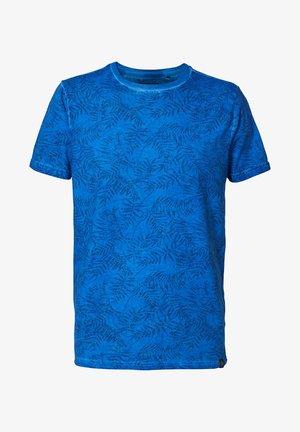 T-Shirt print - antartic blue