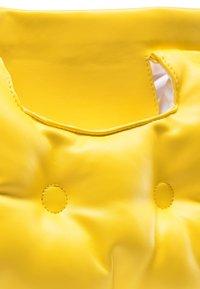 myMo - QUILTED BAG - Handbag - yellow - 5