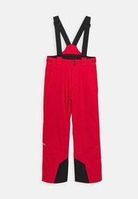 Kjus - BOYS VECTOR PANTS - Zimní kalhoty - scarlet - 0