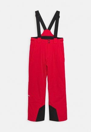 BOYS VECTOR PANTS - Snow pants - scarlet