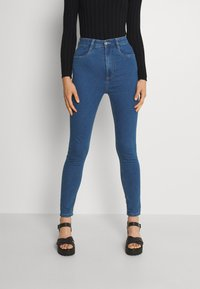 Cotton On - ULTRA HIGH SUPER STRETCH - Jeans Skinny Fit - coogee blue - 0