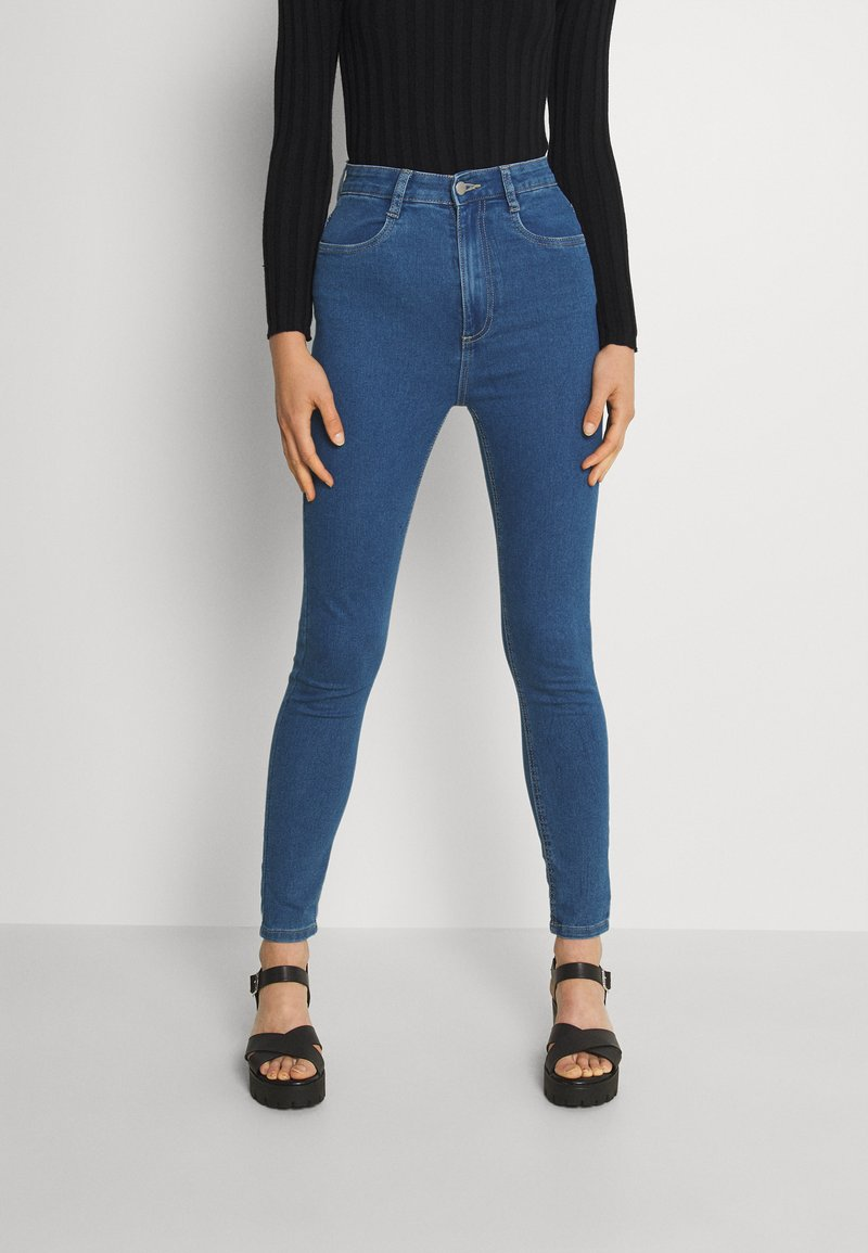 Cotton On - ULTRA HIGH SUPER STRETCH - Jeans Skinny Fit - coogee blue