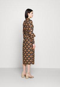 Vila - VIZINO MIDI DRESS - Shirt dress - navy blazer - 2