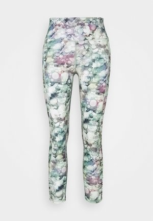 LOVE YOU A LATTE  - Leggings - inky/pink
