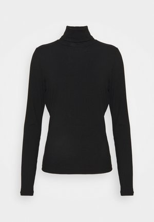 VISOLITTA ROLLNECK - Long sleeved top - black