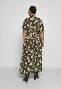 Kaffe Curve - KCILONE MAXI DRESS - Maxi dress - grape leaf - 2
