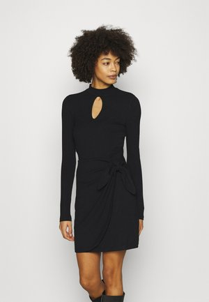 NURSELI  - Shift dress - jet black