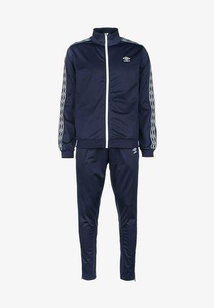 ACTIVE STYLE - Tracksuit - medieval blue / white