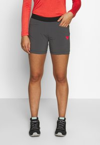 Dynafit - TRANSALPER HYBRID SHORTS - Sports shorts - magnet - 0