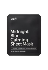 klairs - MIDNIGHT BLUE CALMING MASK 25ML 2 MASK PACK - Face mask - - - 1