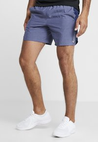 Nike Performance - CHALLENGER SHORT - Sports shorts - blue void/heather/reflective silver - 0