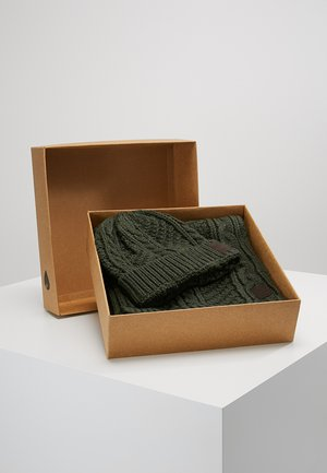 ONSERIK BOX SCARF BEANIE  - Sjal - forest night