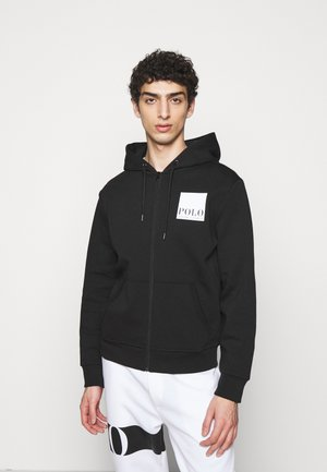 TECH - Zip-up hoodie - black