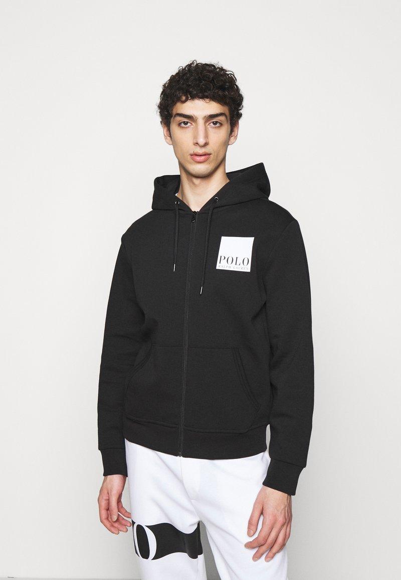 Polo Ralph Lauren - TECH - veste en sweat zippée - black