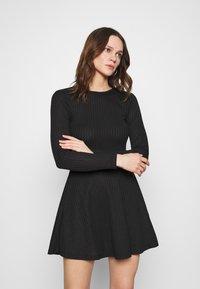 Zign - Jersey dress - black - 0