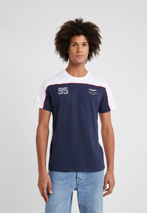MULTI TEE - T-shirt con stampa - navy/white