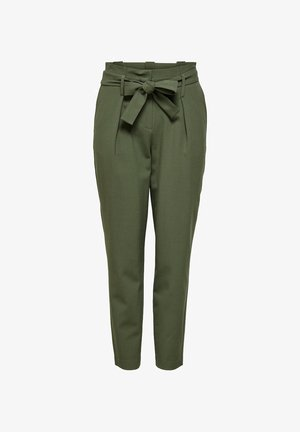 ONLNICOLE PAPERBAG  - Trousers - khaki