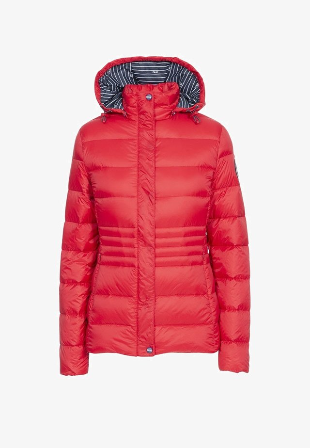 Down jacket - red