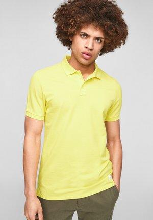 Polo shirt - citrus yellow