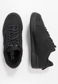 adidas Originals - CONTINENTAL 80 - Sneakersy niskie - core black/trace green - 1