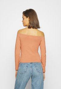 Even&Odd - Long sleeved top - camel/black - 2