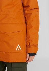 Wearcolour - STATE PARKA - Snowboardjakke - orange - 7