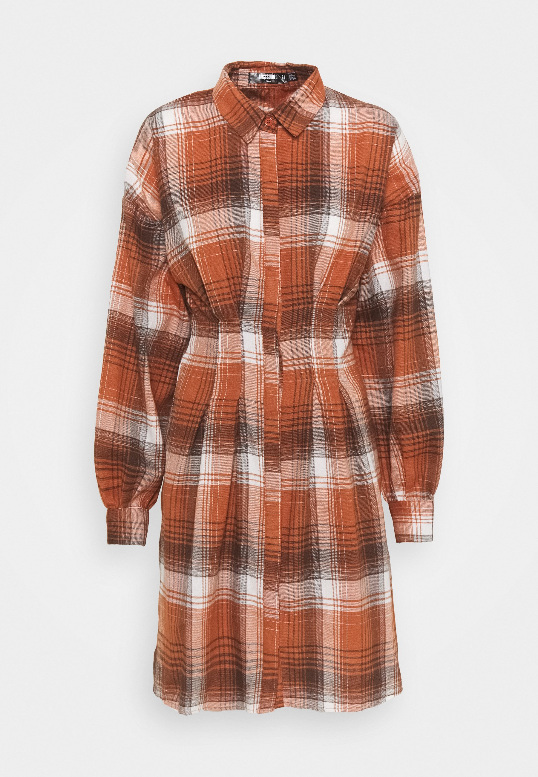 Women PLEATED WAIST - Shirt dress