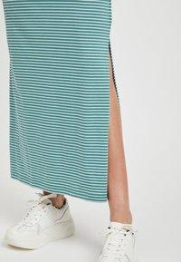 Object - OBJSTEPHANIE MAXI DRESS  - Maxi dress - light blue - 4