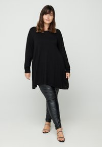 Zizzi - Sweatshirt - black - 1