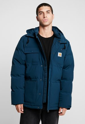 ALPINE COAT - Winter jacket - duck blue/black