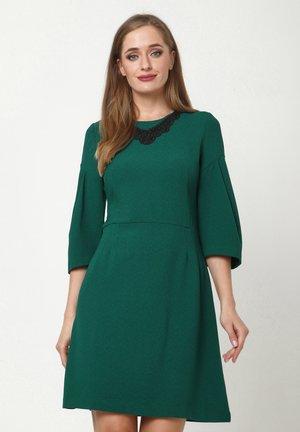 VERGINI - Day dress - smaragdgrün