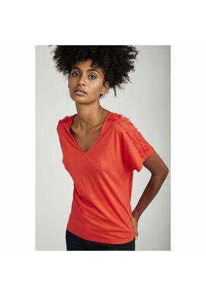 Camiseta básica - orange