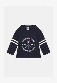Petit Bateau - Long sleeved top - dark blue - 0