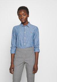 Polo Ralph Lauren - CHAMBRAY GEORGOA - Button-down blouse - indigo - 0