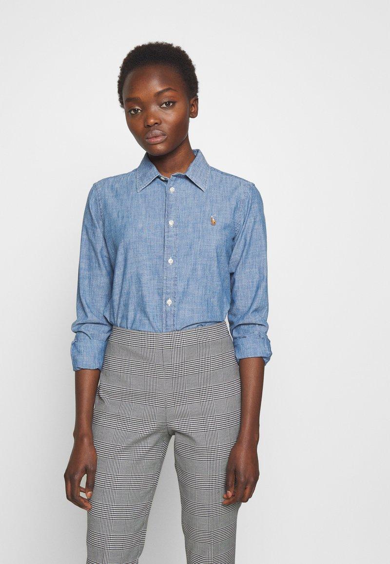 Polo Ralph Lauren - CHAMBRAY GEORGOA - Button-down blouse - indigo