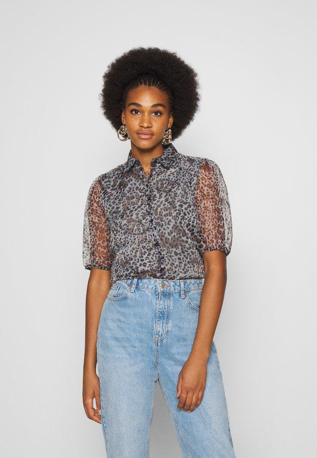 VITAGA - Button-down blouse - castor gray