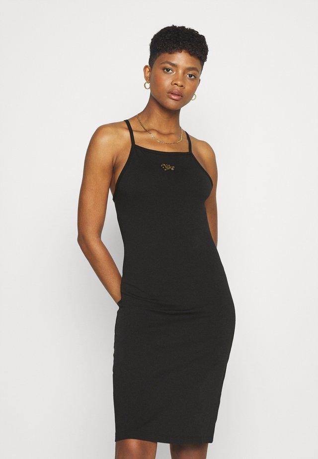 FEMME DRESS - Sukienka z dżerseju - black