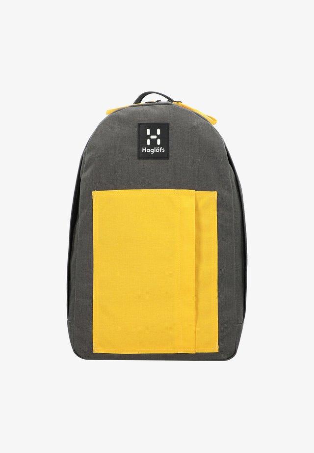 FLODA - Rucksack - magnetite/pumpkin yellow