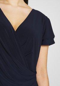 Lauren Ralph Lauren Woman - MID WEIGHT DRESS - Jersey dress - dark blue - 5