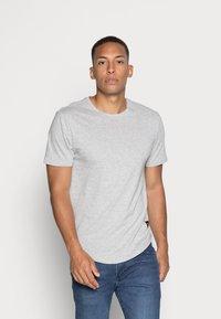 Only & Sons - ONSMATT LIFE LONGY TEE 7 PACK - T-shirt basic - white/cabernet melange/forest night melange - 3