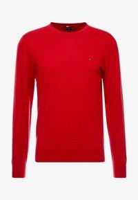 Tommy Hilfiger Tailored - FINE GAUGE LUXURY  - Jumper - red - 3