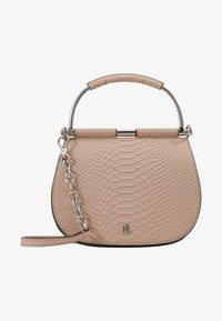 Lauren Ralph Lauren - MATTE PYTHON MASON  - Handbag - mellow pink - 2